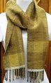 【No.1204】草木染め手織りマフラー