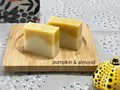 pumpkin&almond soap