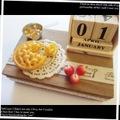 アップルパイの木製BOX