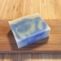 マロウブルー石けん(ジンジャーの香り)