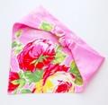 ゴム付き子供用三角巾 フラワー