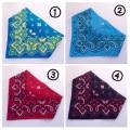 ゴム付き子供用三角巾 バンダナ
