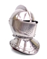 中世 18ゲージスチール製 イングリッシュ クローズヘルム