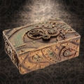 樹脂製 アンティーク スチームパンク 多目的ボックス