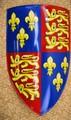 中世 18ゲージスチール エドワード3世 スチールシールド