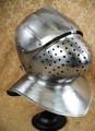 中世 16ゲージスチール ミラノ式 バシネット ヘルム 兜