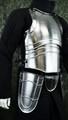 中世 18ゲージスチール タセット付きキュイラス