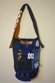 法被と刺子織道着の手提げバッグ 498OT18