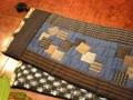 更紗と絣のテーブルセンター 120DC11