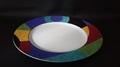 彩色ディナー皿 径27cm