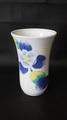 有田焼彩色花柄ビールorジュースカップ H13cm(底款:南山窯)5個セット(未使用品)