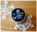 雪の結晶のアルミケース2
