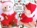 【JS】クリスマスコスチューム型紙