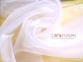 オーガンジー生地:ホワイト(ドレス等に!)