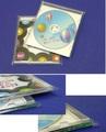 透明のCD袋 テープ付    100枚