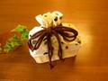 手作り籐かご巾着のドリップバッグセット(水玉)