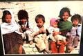 NO3額入り写真、アフガニスタン、カンダハルの子どもたち