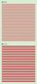 【18年9月予定】くらくらシール DE2-26 線0.5 線1.0 赤