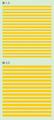 【18年9月予定】くらくらシール DE2-31 線1.5 線2.0 黄