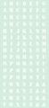 くらくらシール DE1-07 アルファベット白
