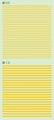 【18年9月予定】くらくらシール DE2-27 線0.5 線1.0 黄