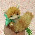 トラ白猫・緑たすき