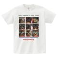 京都小さな命をつなぐプロジェクト チャリティーTシャツ 白-M
