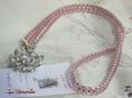 90043 ジュエリーレース ネックストラップ ピンク