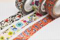 デジタル印刷マスキングテープ「マスキング・デジテープ」12mm×7m 100巻
