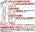4本平目打ち3.0mm巾TVでも紹介された【日本製】