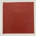 【焼印】ティーポレザー #⑥赤 約1.0mm厚 30×30cm ⑥