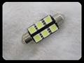LED電球 T10 × 37mm 白色