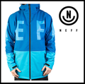 30%OFF【NEFF】DAILY SOFTSHELL BLUE メンズ Mサイズ