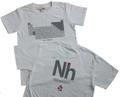 元素周期表Tシャツ(白・Nh)