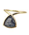 Black beryl Ring / 0165