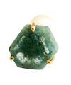 Aquamarine Slice Pierce / 0376