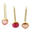 Drop Pierce Pink Sapphire / 0381_2
