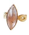 Bicolor Topaz Ring / 01136
