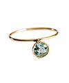 Emerald Tiny Circle Ring / 01208