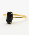 Green tourmaline Ring / 0152