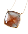 Bicolor Topaz Necklace / 0297
