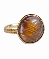 Cacoxenite Cabo Circle Ring / 01200
