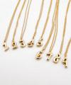 Number Necklace K18 / 0225