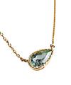 Emerald Tiny Drop Necklace / 02179