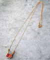 Oregon sunstone Necklace 02