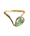 Emerald Wave Ring / 01207