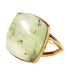 Prehnite Square Ring / 0190