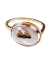 Quartz with Litiopmyllite Ring / 01147