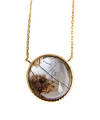 Garden Quartz with Tormarin Necklace / 02120