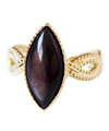 Black Mother of Pearl Ring / 01143